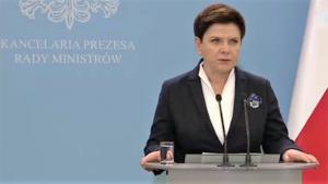 Premier Beata Szydło Ustawa dezubekizacyjna trafia dzisiaj na posiedzenie rządu fot. ŚWIECZAK