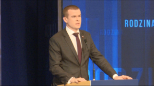 Witold Bańka,  Minister sportu i turysty #DobryRok.  Premier Szydło: Dotrzymujemy słowa. To był dobry rok zbudowany na trzech filarach: rodzina, rozwój i bezpieczeństwo fot. ŚWIECZAK
