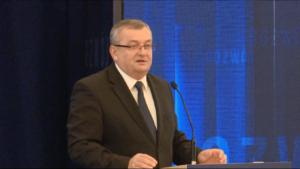 Andrzej Adamczyk,  Minister infrastruktury i budownictwa #DobryRok.  Premier Szydło: Dotrzymujemy słowa. To był dobry rok zbudowany na trzech filarach: rodzina, rozwój i bezpieczeństwo fot. ŚWIECZAK
