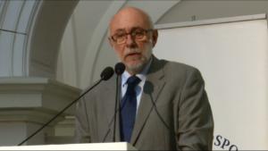 prof. Jan Szmidt Rektor Politechniki Warszawskiej XI Ogólnopolski Kongres Obywatelski fot. ŚWIECZAK