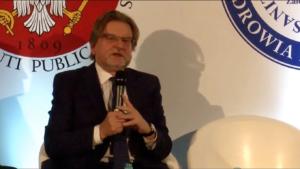 Jarosław Pinkas Kongres Zdrowia Publicznego 2016 fot. ŚWIECZAK