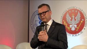 prof. Mirosław Wielgoś rektor Warszawskiego Uniwersytetu Medycznego, Kongres Zdrowia Publicznego 2016 fot. ŚWIECZAK