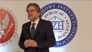 Jarosław Pinkas sekretarz stanu w Ministerstwie Zdrowia, Kongres Zdrowia Publicznego 2016 fot. ŚWIECZAK