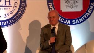 prof. Piotr Hoffman Kongres Zdrowia Publicznego 2016 fot. ŚWIECZAK