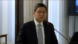 Guanglian PANG, Chińska Federacja Przemysłu Chemicznego i Petrochemicznego Współpraca państwa, jednostek samorządu terytorialnego i przedsiębiorców przy realizacji nowych projektów górniczych i energetycznych fot. ŚWIECZAK