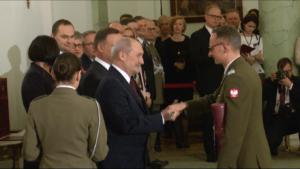 Prezydent wręczył nominacje generalskie fot. ŚWIECZAK