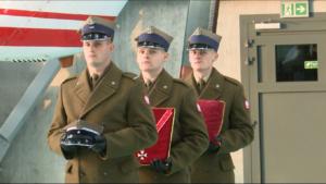 Uroczysty powrót do Ojczyzny płk. Matuszewskiego oraz mjr. Floyar-Rajchmana fot. ŚWIECZAK