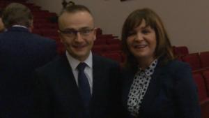 dr Marek Woch Małgorzata Zwiercan Kongres Zdrowia Publicznego 2016 fot. ŚWIECZAK