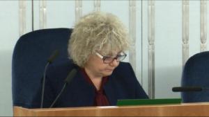 """wicemarszałek Maria Koc Senatorowie bez poprawek przyjęli ustawę o wsparciu kobiet w ciąży i ich rodzin """"Za życiem"""" fot. ŚWIECZAK"""