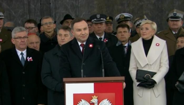 Prezydent Andrzej Duda przygotował projekt ustawy o Narodowych Obchodach 100. rocznicy odzyskania niepodległości Rzeczypospolitej Polskiej
