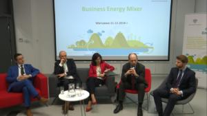"""Konferencja pt. """"Business Energy Mixer"""" fot. ŚWIECZAK"""