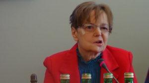 """Izabela Litwin, Fundacja Jesteśmy Zmianą Debata w Sejmie """"Projekt implementacji waluty równoległej/lokalnej w jednostkach samorządowych na przykładzie Powiatu Otwockiego"""" fot. ŚWIECZAK"""