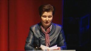 Hanna Gronkiewicz - Waltz Prezydent m.st. Warszawy Świąteczne Spotkanie Warszawskich Seniorów 2016 fot. ŚWIECZAK
