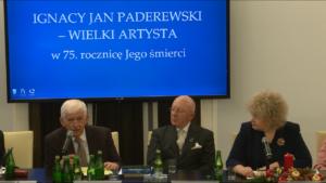 """Konferencja """"Ignacy Jan Paderewski – wielki artysta"""" fot. ŚWIECZAK"""