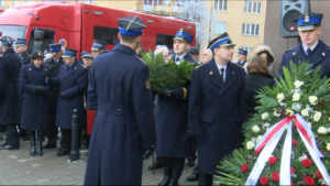 Uroczyste obchody 35. rocznicy Strajku podchorążych w Wyższej Oficerskiej Szkole Pożarniczej fot. ŚWIECZAK