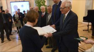 Uroczystość wręczenia nagród naukowych i wyróżnień Wydziałów Polskiej Akademii Nauk fot. ŚWIECZAK