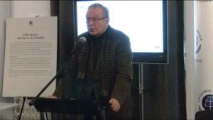 Krzysztof Zanussi ambasador Zrównoważonego Rozwoju Global Compact Poland Konferencja ,,Biznes i Prawa Człowieka – Implementacja Wytycznych ONZ'' fot. ŚWIECZAK