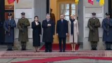 Wizyta Prezydenta Ukrainy Petra Poroszenki z Małżonką w Warszawie fot. ŚWIECZAK