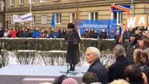 Skwer im. Władysława Bartoszewskiego fot. ŚWIECZAK