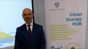 """Minister Michał Kurtyka, Ministerstwo Energii Konferencja pt. """"Business Energy Mixer"""" fot. ŚWIECZAK"""