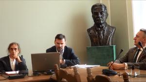 """Debata w Sejmie """"Projekt implementacji waluty równoległej/lokalnej w jednostkach samorządowych na przykładzie Powiatu Otwockiego"""" fot. ŚWIECZAK"""