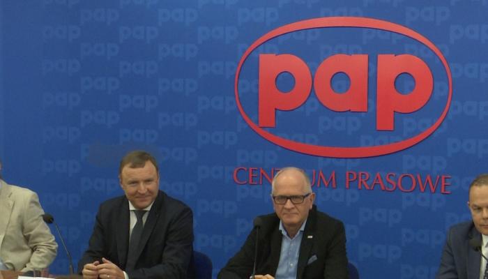 Konferencja prasowa dotycząca Nagrody Mediów Publicznych Fot. ŚWIECZAK