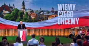 Kaczyński na spotkaniu Forum Młodych PiS
